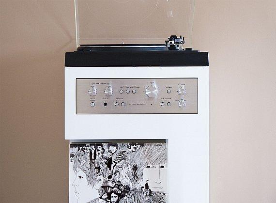 Meuble platine vinyle offrir une seconde vie une - Platine vinyle design ...